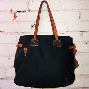 Dooney bourke shopper tote bag purse nylon purse